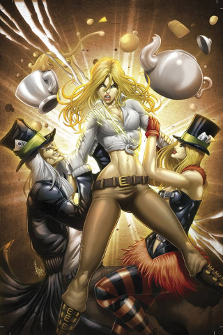 Grimm Fairy Tales: Wonderland #42 (El Tabanas Cover)