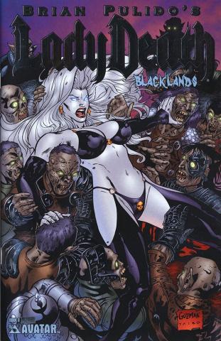Lady Death: Blacklands #3 (Platinum Foil Cover)