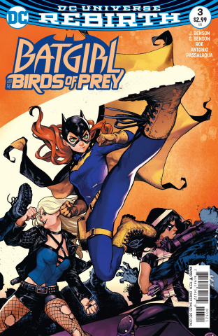 Batgirl and The Birds of Prey #3 (Variant Cover)