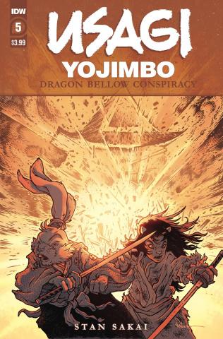 Usagi Yojimbo: Dragon Bellow Conspiracy #5