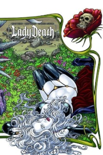 Lady Death #4 (Wrap Cover)