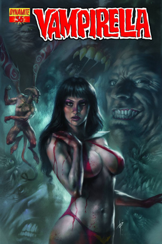 Vampirella #36 (Parrillo Cover)