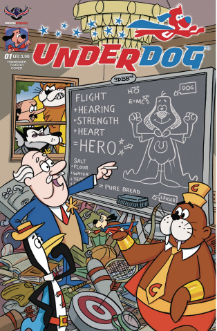 Underdog #1 (Tennessee Tuxedo Gallant Cover)