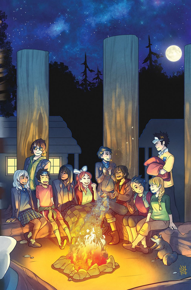 Lumberjanes / Gotham Academy #6 (Subscription Matthews Cover)