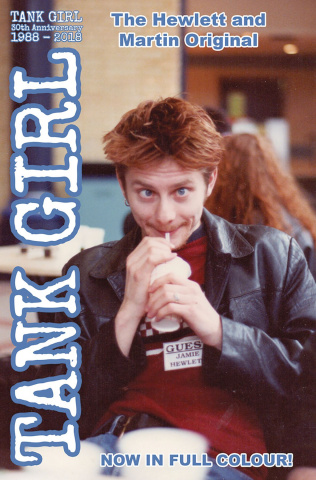 Tank Girl: Full Color Classics #4 (1991-92 Photo Cover)
