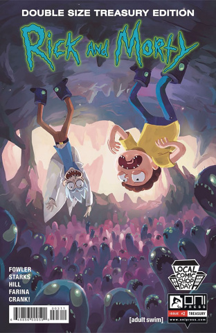 Rick and Morty #2 (Local Comic Shop Day 2016)