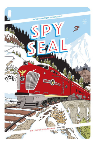 Spy Seal #3 (Tommaso Cover)