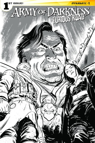 Army of Darkness: Furious Road #1 (10 Copy Cover)