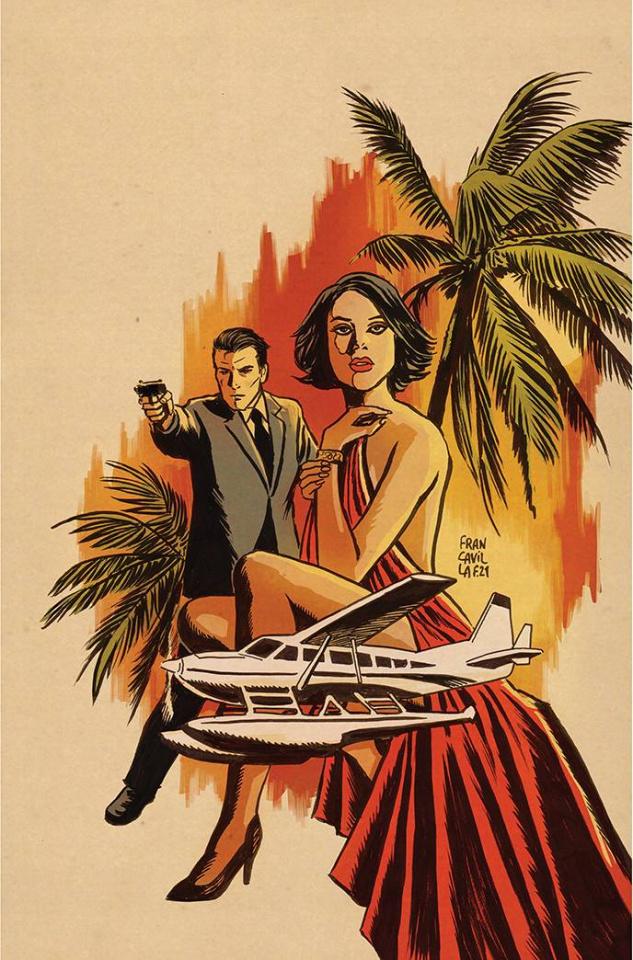 James Bond: Himeros #1 (Francavilla Metal Premium Cover)