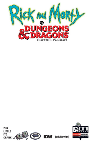Rick and Morty vs. Dungeons & Dragons II: Painscape #1 (10 Copy Cover)
