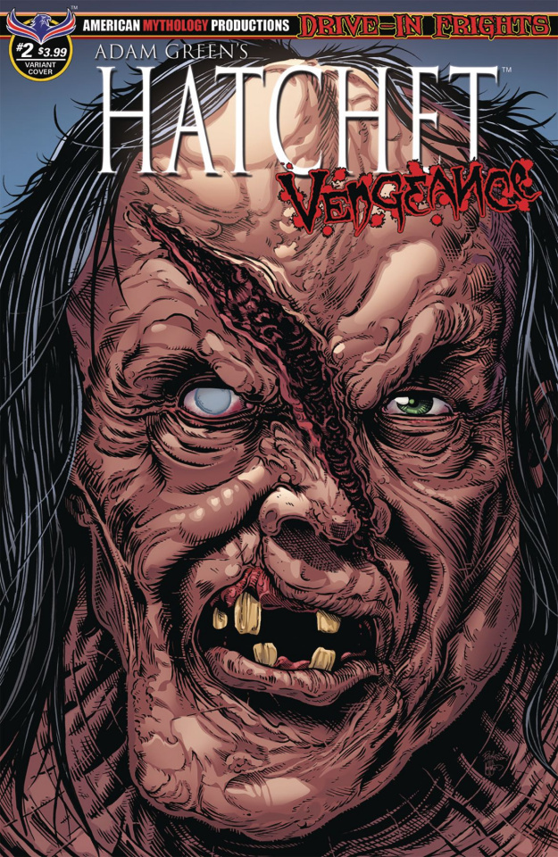 Hatchet: Vengeance #2 (Curse of Crowley Cover)