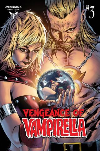 Vengeance of Vampirella #3 (Sta. Maria Bonus Cover)