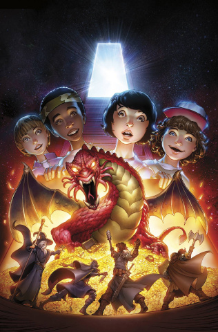 Stranger Things and Dungeons & Dragons #2 (Dunbar Cover)