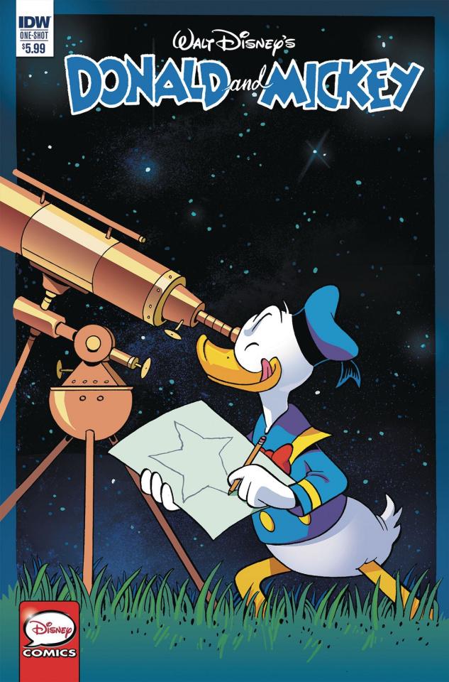 Donald and Mickey Quarterly (Freccero Cover)