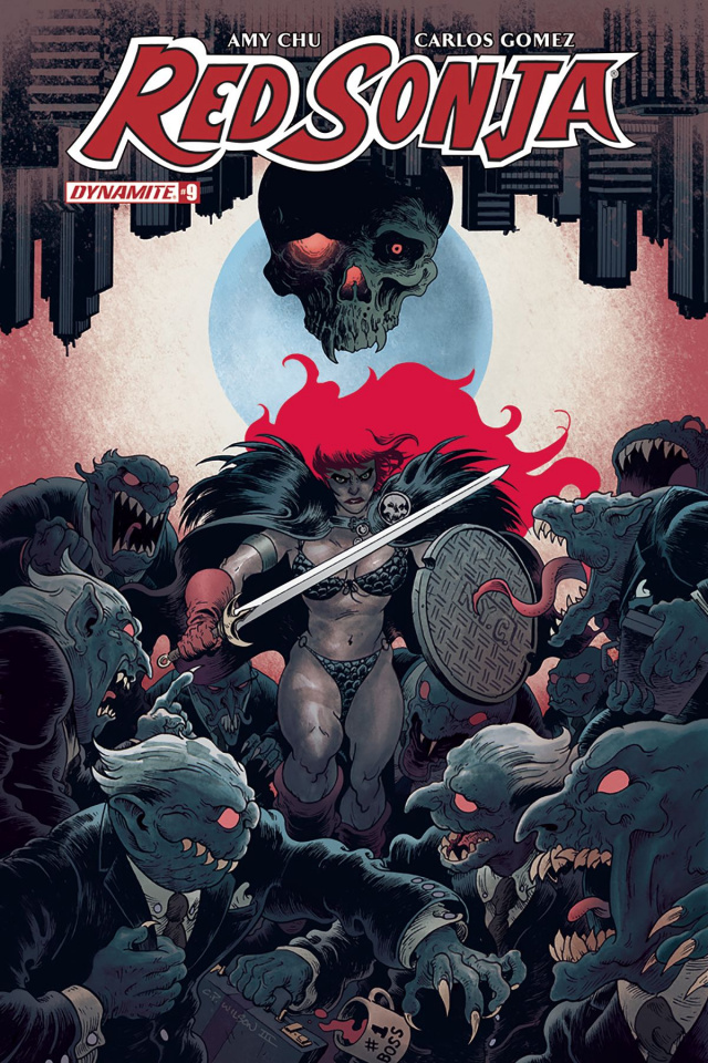 Red Sonja #9 (Wilson Cover)
