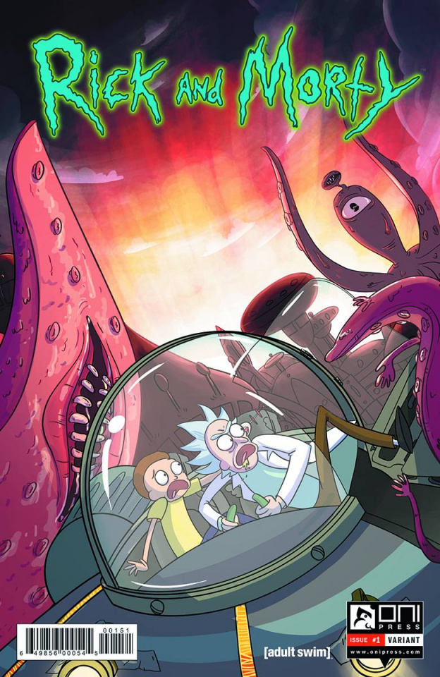 Rick and Morty #1 (10 Copy Colas Cover)