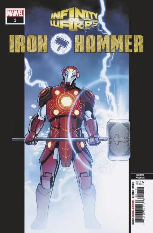 Infinity Wars: Iron Hammer #1 (Rosanas 2nd Printing)