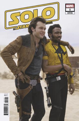 Star Wars: Solo #1 (Movie Cover)