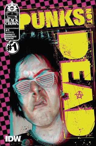 Punk's Not Dead #1 (Simmonds Cover)