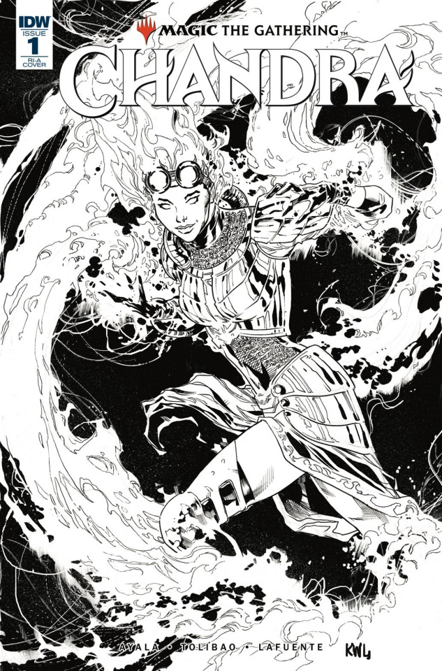 Magic the Gathering: Chandra #1 (10 Copy Lashley Cover)