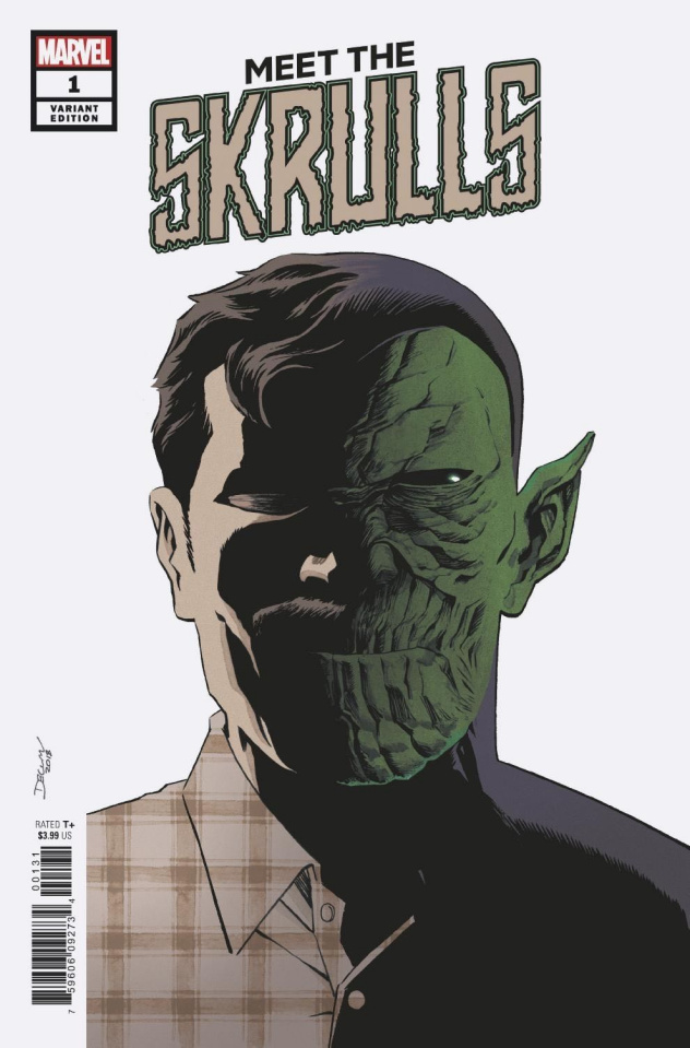 Meet the Skrulls #1 (Shalvey Cover)