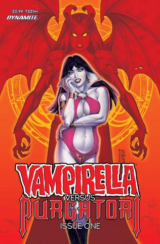 Vampirella vs. Purgatori #1 (Linsner Cover)