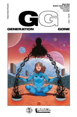 Generation Gone #1 (Images of Tomorrow Cover)