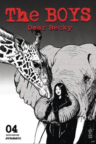 The Boys: Dear Becky #4 (Robertson Line Art Premium Cover)