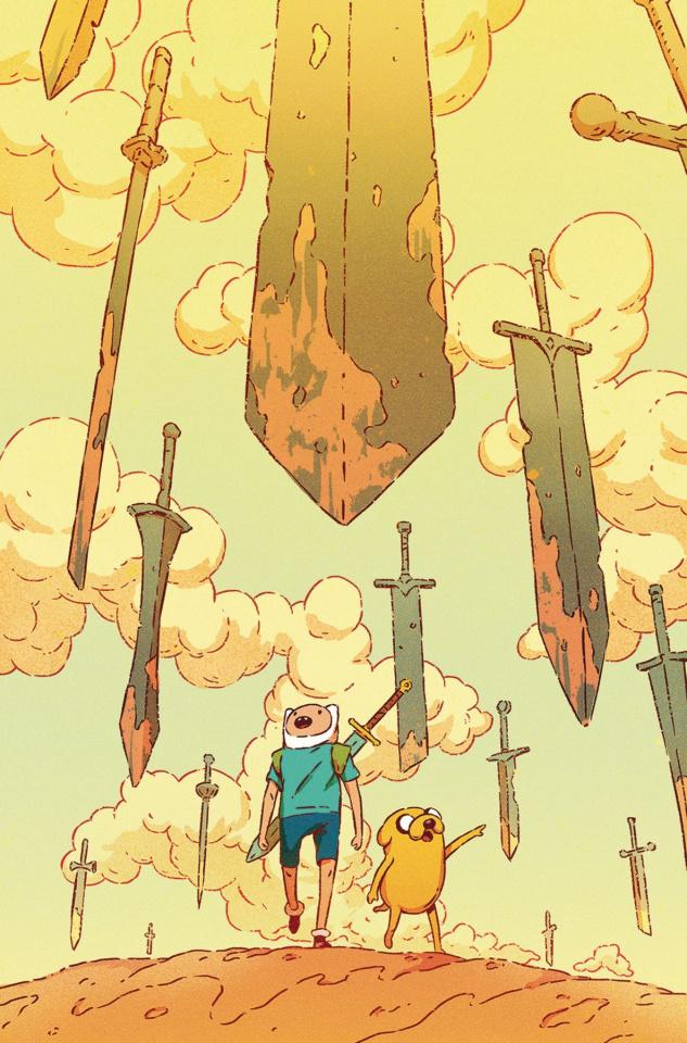 Adventure Time #75 (Subscription Bak Cover)