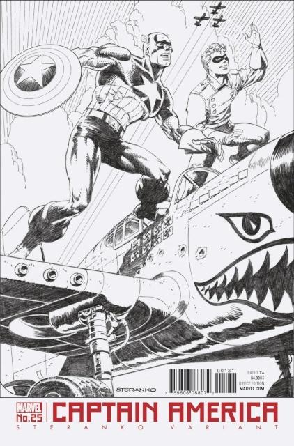 Captain America #25 (Steranko Cover)