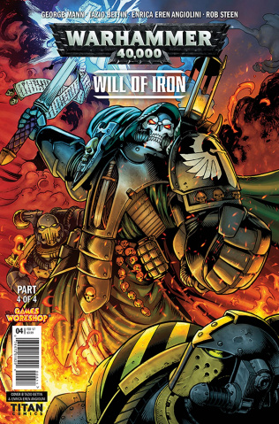 Warhammer 40,000: Will of Iron #4 (Bettin Cover)