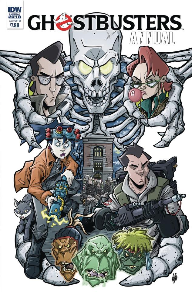 Ghostbusters Annual 2018 (Lattie Cover)