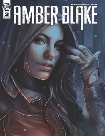 Amber Blake #3 (10 Copy Nodet Cover)