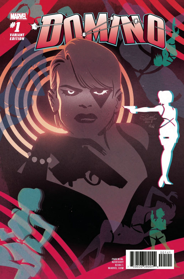 Domino #1 (Charretier Cover)