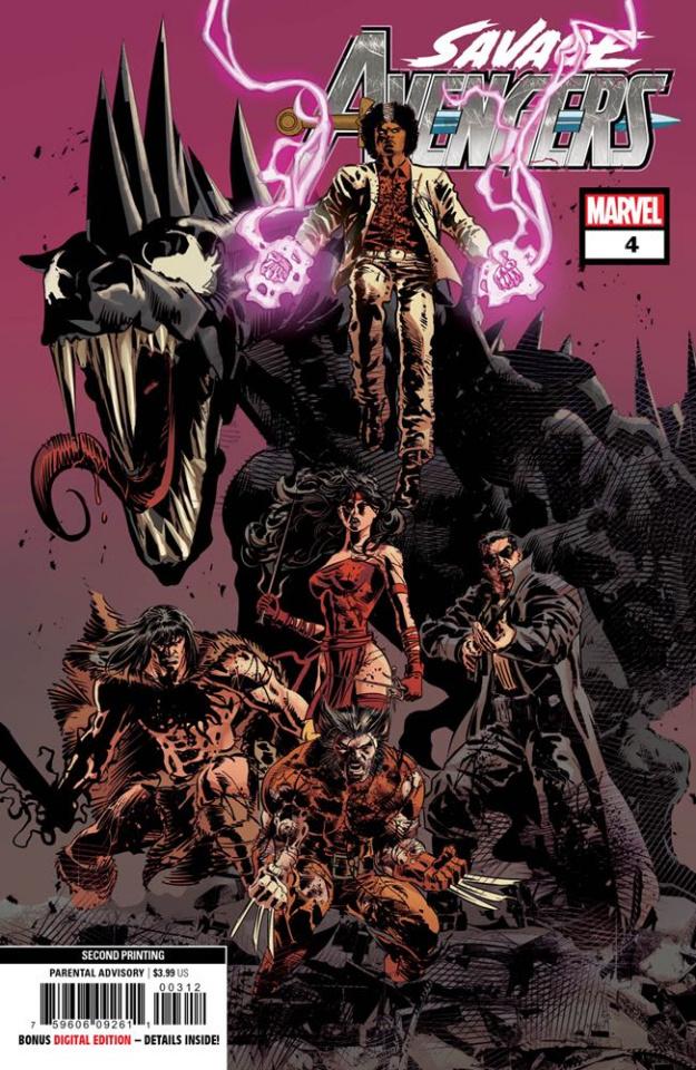 Savage Avengers #4 (Deodato 2nd Printing)