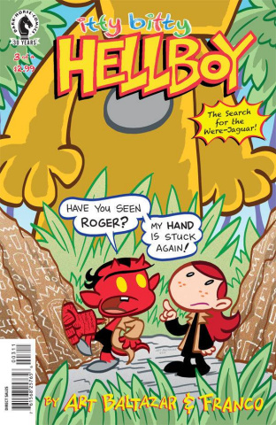 Itty Bitty Hellboy: The Search for the Were-Jaguar #3