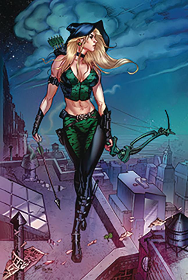 Robyn Hood: Vigilante #2 (Dooney Cover)