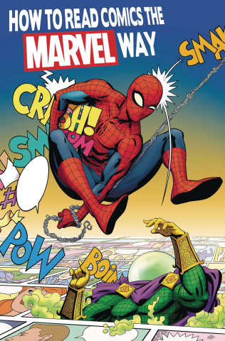 How to Read Comics the Marvel Way #1 (Rodriguez Cover)