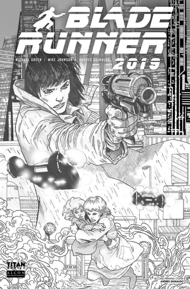 Blade Runner 2019 #1 (2nd Printing)