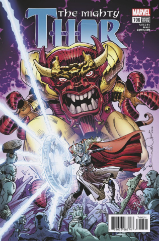 The Mighty Thor #706 (Simonson Cover)