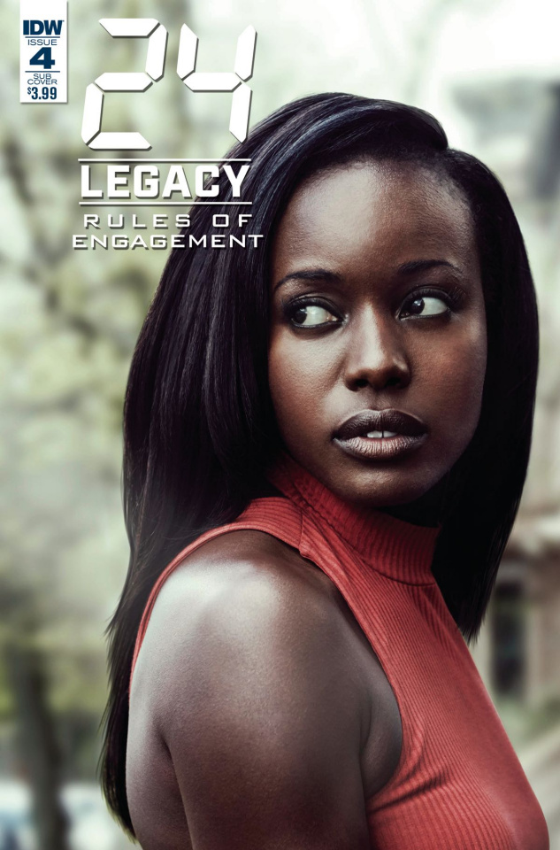 24 Legacy: Rules of Engagement #4 (Photo Cover)