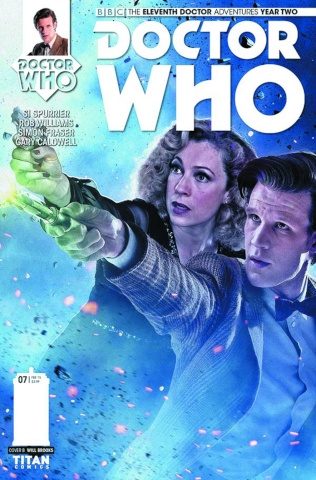 Doctor Who: New Adventures with the Eleventh Doctor, Year Two #7 (Photo Cover)