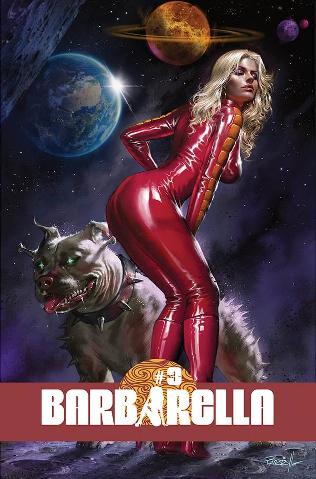 Barbarella #3 (Parrillo Cover)