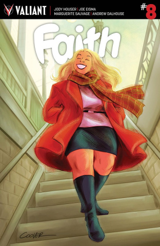 Faith #8 (20 Copy Coover Cover)