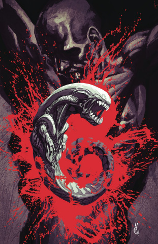 Aliens: Dust to Dust #3 (Anda Cover)