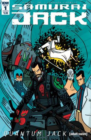 Samurai Jack: Quantum Jack #1 (Cadwell-Johnson Cover)