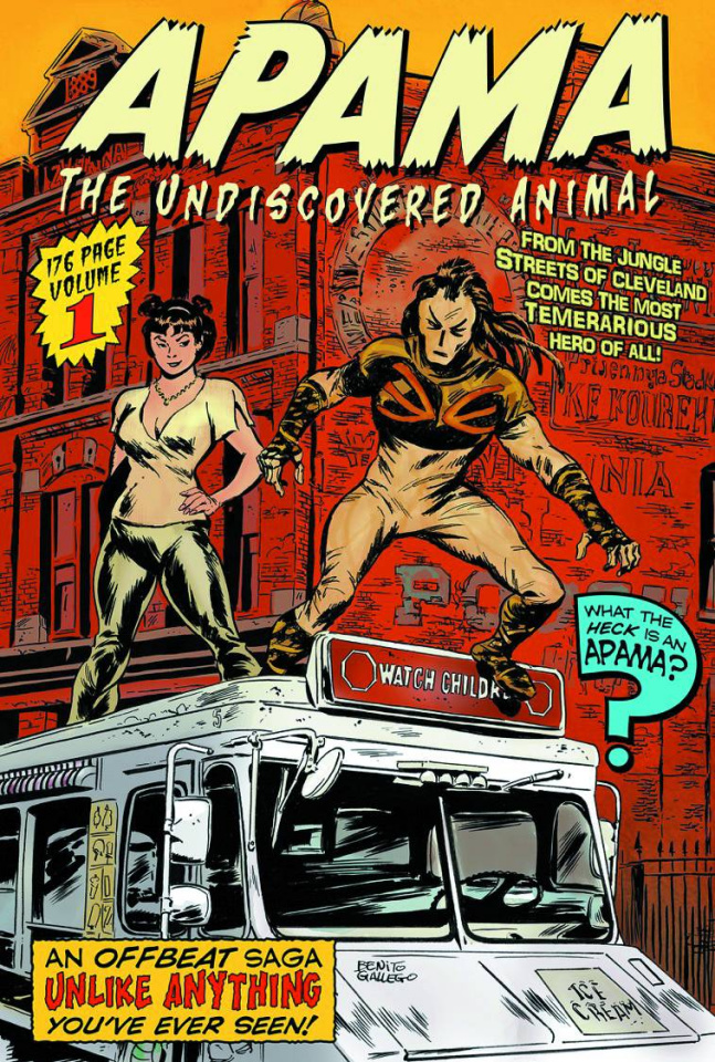 Apama: The Undiscovered Animal Vol. 1