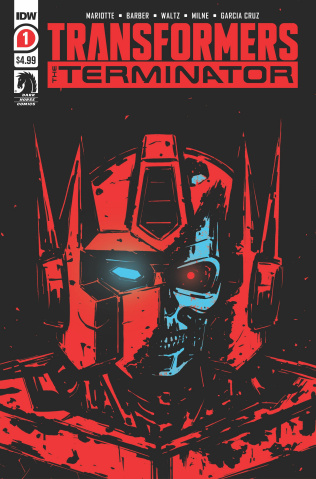 The Transformers vs. The Terminator #1 (2nd Printing)