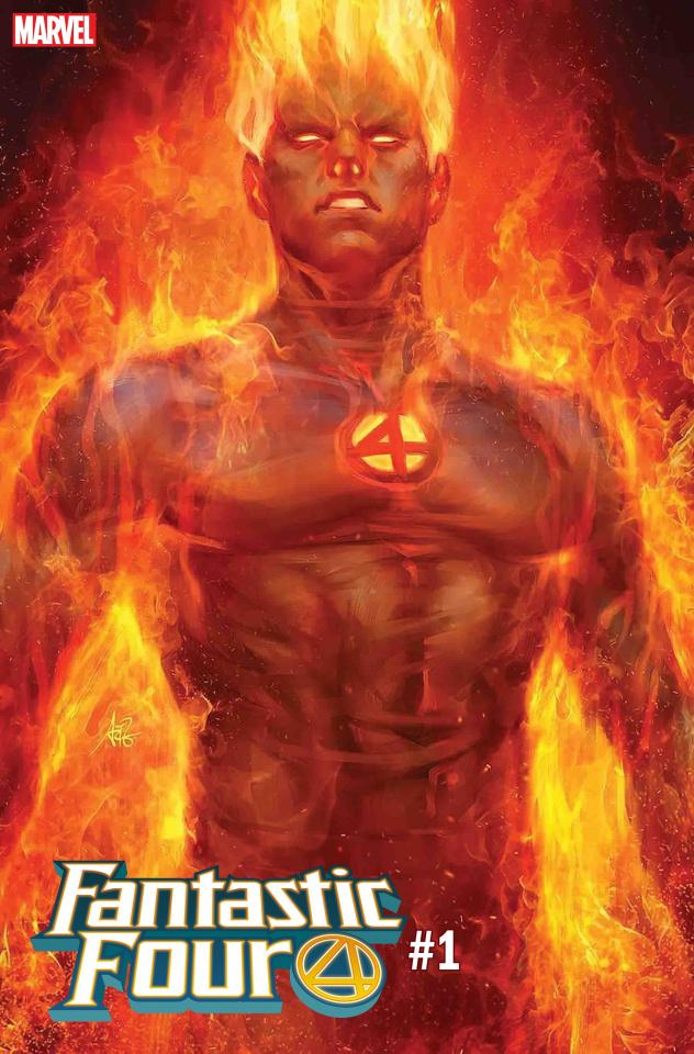 Fantastic Four #1 (Artgerm Human Torch Cover)