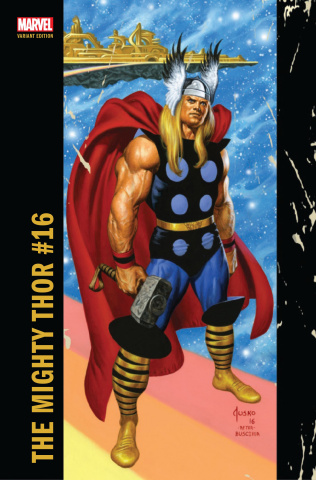 The Mighty Thor #16 (Jusko Corner Box Cover)